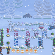 Winter with Idle Animations