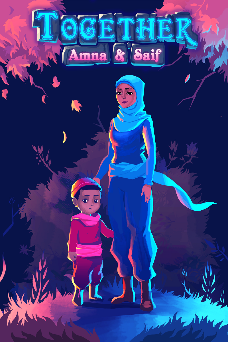 Exhibitor Booth Games : Together amna saif indie megabooth