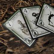 Wood attack cards