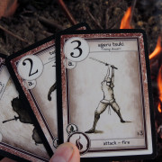 Fire attack cards