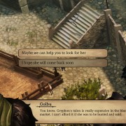 Talk to the townsfolk you meet along the way. They might be able to offer you something special.